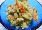 寿司酢で味付けする…「和味ポテトサラダ」