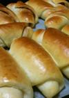 白玉粉でモチモチ♬HBで牛乳ロールパン