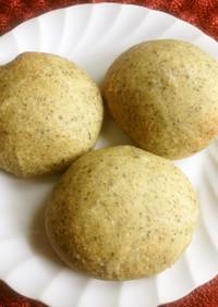 お茶酵母で甘納豆パン