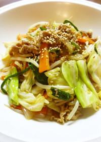 冷凍吉牛の中華風野菜炒め(≧∇≦)