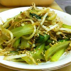 簡単で美味しい!小松菜ともやしのナムル