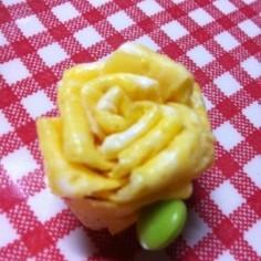 キャラ弁★ピック不使用全部食べられるお花