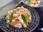 あっさり麻婆豆腐丼 ~塩麹レシピの写真