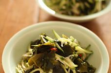 【簡単副菜】きゅうりとえのきの中華和え