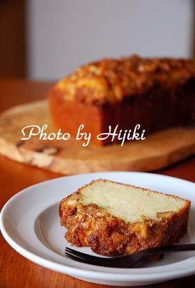 クルミとシナモンのケーキ