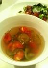 きゅうりとトマトのジュレ