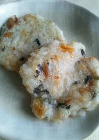 【離乳食・後期】鮭と海苔ご飯おやき