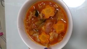 野菜たっぷり☆鶏胸肉のトマト煮込み