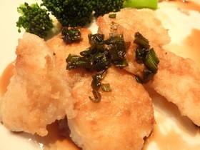 お魚のソテー&バルサミコ酢入り旨ソース