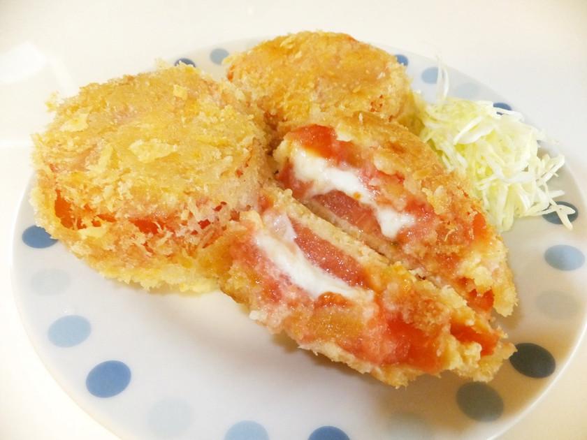 ★トマトとモッツァレラチーズのフライ★