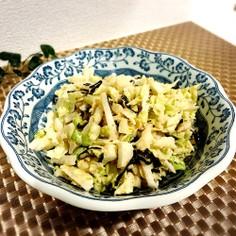 ❀白菜のマヨポン塩昆布サラダ❀