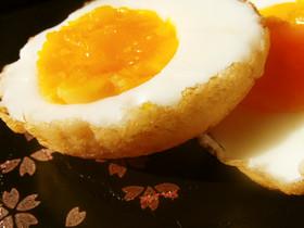 低糖質*ゆで卵の素揚げ