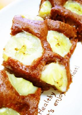 卵いらずのチョコバナナ蒸しパン~ルクエ