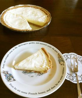 簡単ʚ♥ɞ二層のチーズケーキ