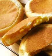 平焼きマンゴークリームパンの写真