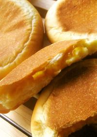 平焼きマンゴークリームパン