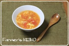 【農家のレシピ】トマトの酸辣湯風スープ