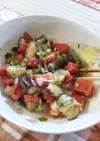夏のトマトで☆トマトとナスのおろし酢和え