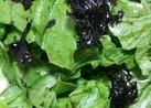 レタスと海苔だけの簡単サラダ
