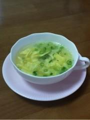 ウェイパーで作る☆簡単な卵スープの写真