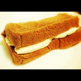 うま!簡単チョコ食パンのアイスサンド♪
