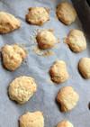 ケフィアヨーグルトでクッキー(パン?)