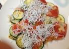 ズッキーニとトマトのトロ~リチーズ