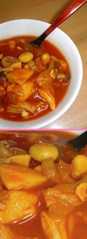 すごくおいしいダイエット!しっかり満足トマトカレースープ