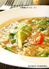 ■カニカマとレタスの中華風たまごスープ■