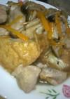 厚揚げ豆腐と鳥のトロ〜リ餡
