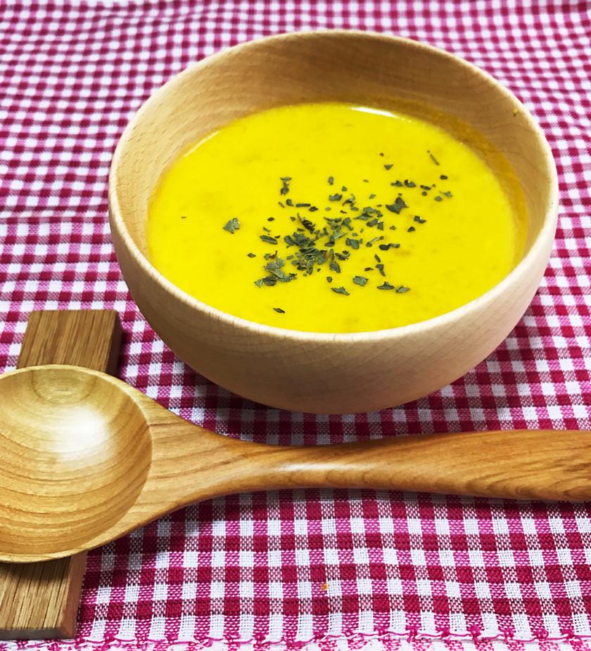 簡単・失敗なしのかぼちゃスープ