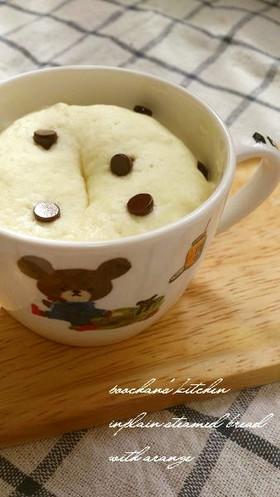 レンジde蒸しパン プレーン*。+・♪+