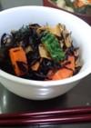 乾豆腐のひじき煮