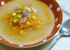 お箸で食べたい!塩麹のにんじんスープ