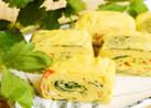 三つ葉とカニカマの玉子焼き~茶碗蒸し風~