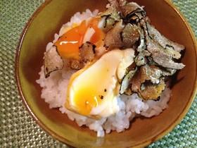 「右京」のトリュフ卵かけご飯 アレンジ