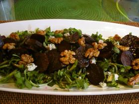 Emaのビーツ&水菜サラダ