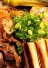 牛スジ肉で!肉豆腐♪