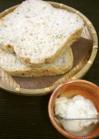 ♡ 3種の豆パン & 自家製塩麹豆腐