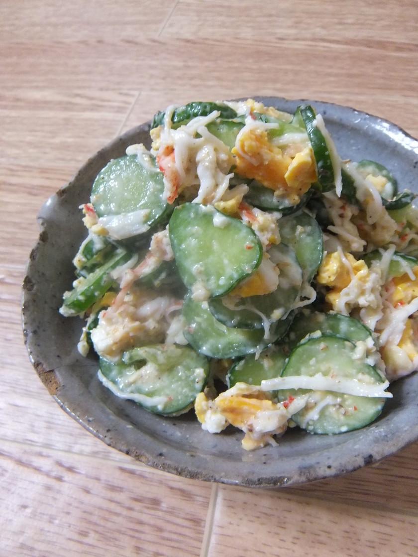 絶品パリパリきゅうりの簡単胡麻マヨサラダ