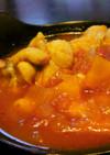 トマトと大豆の食べるスープ