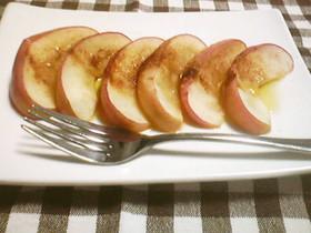 朝食べて腸スッキリ! ホットりんご♡