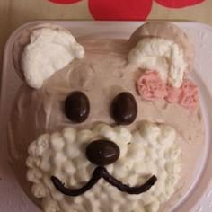 簡単!クマさんケーキ