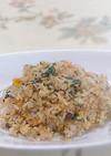 【醤油麹】で簡単・野菜納豆チャーハン