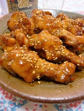 鶏手羽元の甘辛さっぱり煮♔人気レシピ♪