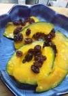 シリコンスチーマーでかぼちゃのレンジ蒸し