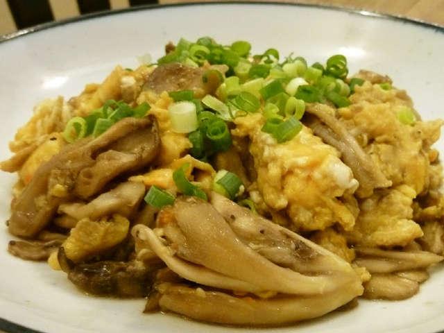 手早く1品☆舞茸とふんわり玉子の炒め物
