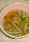 カニかまスープ