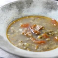 フィリピンの味★緑豆のほっこりスープ★