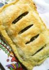 塩麹チキンとほうれん草のポテトパイ